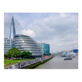 Câmara municipal, cartão de Londres Reino Unido