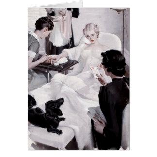 Câmaras de Charles Edward: Manicure Cartão Comemorativo
