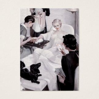Câmaras de Charles Edward: Manicure Cartão De Visitas