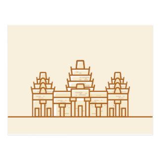 Cambodia - Angkor Wat Cartão Postal