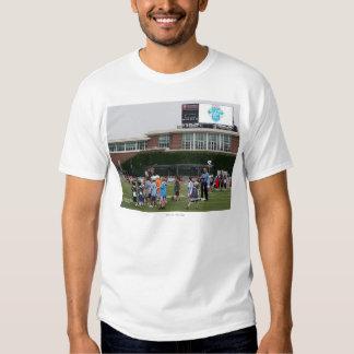 CAMBRIDGE, MÃES - 8 DE JULHO:  Atmosfera no MLL Camisetas