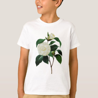 Camélias brancas por Pierre-Joseph Redoute Camiseta