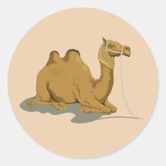 Camelo animado adesivo