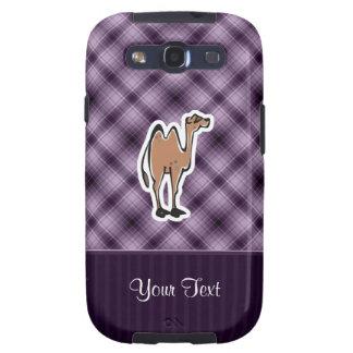Camelo bonito; Roxo Capinha Samsung Galaxy S3