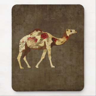 Camelo cor-de-rosa Mousepad