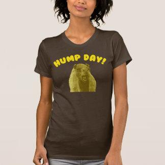 Camelo do dia de corcunda camiseta