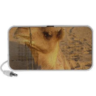 Camelo em auto-falante do deserto caixinhas de som para iPod