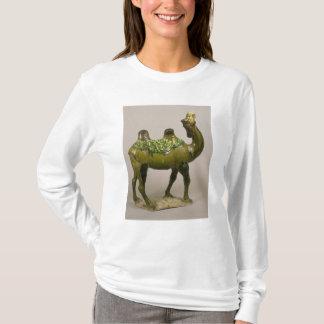Camelo lamentando chinês da cerâmica camiseta