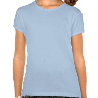 Cameo do navio do forro camisetas
