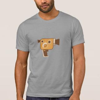 Câmera de filme da cineasta personalizada camiseta