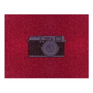 Câmera do brilho cartão postal