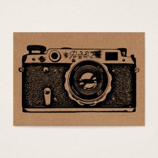 Câmera do russo - preto no cartão Tex
