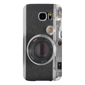 CÂMERA DO VINTAGE 4) Rangefinder japonês do alemão Capa Para Samsung Galaxy S6