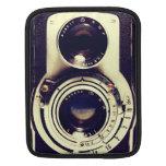 Câmera do vintage bolsas para iPad