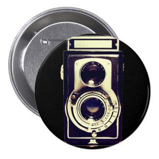 Câmera do vintage pins