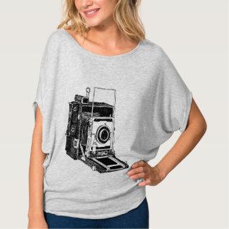Câmera do vintage camiseta