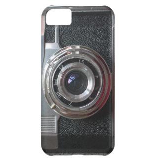 câmera do vintage, capa de telefone capa para iPhone 5C