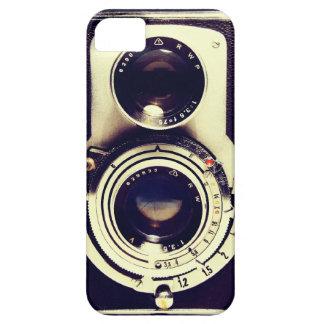 Câmera do vintage capas para iPhone 5
