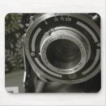 Câmera do vintage mousepads