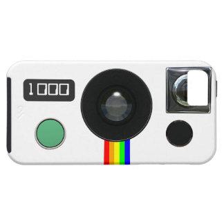 Câmera imediata retro capa para iPhone 5
