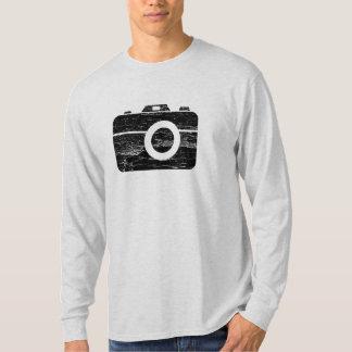Câmera retro do vintage camiseta