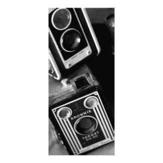 Câmeras de caixa do vintage 10.16 x 22.86cm panfleto