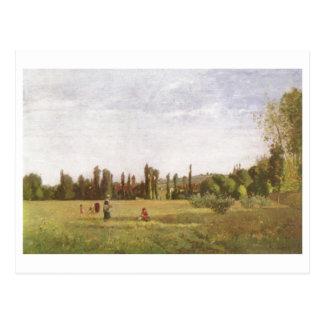 Camille Pissarro - Varenne-de-Rua do La. - Hilário Cartoes Postais