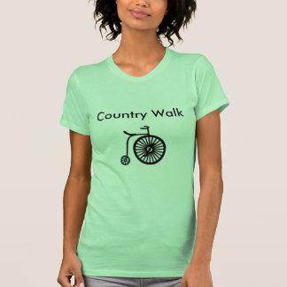 Caminhada 1 do país t-shirts