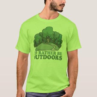 Caminhada, acampando, Trekking, escalando fora! Camiseta
