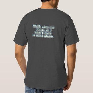 Caminhada comigo Jesus Camisetas