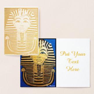 Caminhada como um cartão egípcio do convite