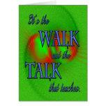 Caminhada da apreciação do ministério cartao