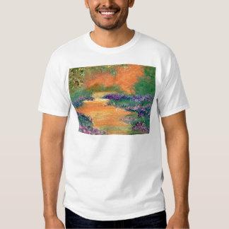 Caminhada da serenidade - produtos da arte de camisetas