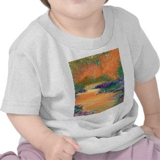 Caminhada da serenidade - produtos da arte de Cric T-shirt