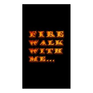 Caminhada de fogo comigo