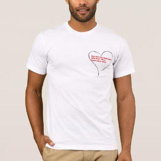 Caminhada do coração camiseta