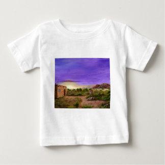 Caminhada do deserto camiseta para bebê