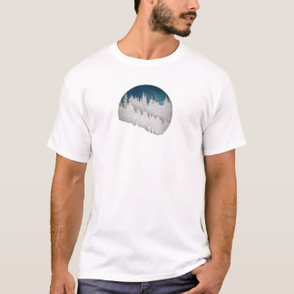 Caminhada II da neve Camiseta
