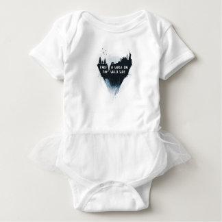 Caminhada no lado selvagem body para bebê
