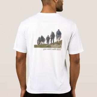 Caminhada no t-shirt