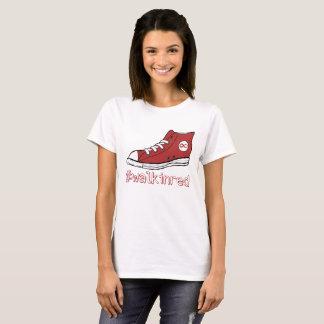 Caminhada no vermelho camiseta