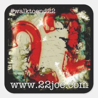Caminhada para terminar 22 etiquetas