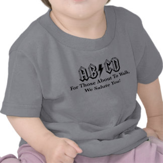 Caminhada sobre T-shirt