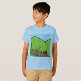 Caminhadas do beira-mar do besouro camiseta