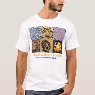 Caminhadas em detalhes arquitectónicos da camisa