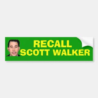 Caminhante de Scott do aviso - Adesivo