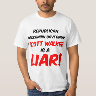 caminhante de scott do governador camiseta