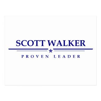 Caminhante de Scott: Líder provado Cartão Postal