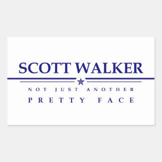 Caminhante de Scott: Não apenas uma outra cara Adesivo Retangular