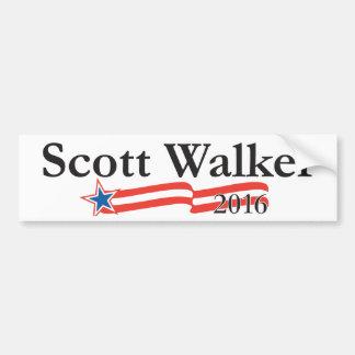 Caminhante de Scott para o presidente 2016 Adesivo
